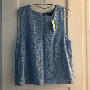 Forever 21 blouse sky blue L NWT